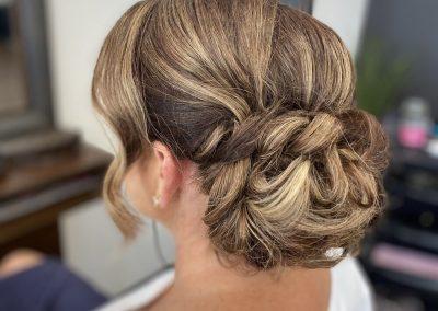 Ladies Twisted Hair updo